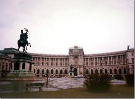 Королевский дворец Хофбург. Вена