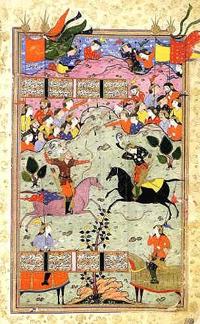 Иллюстрация к Шахнаме (Мухаммад Ширази)