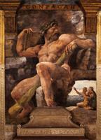 Циклоп Полифем с Галатеей и Ацисом (Джулио Романо)