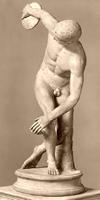 Дискобол (Мирон. Около 450 г до н.э.)