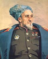 Портрет С.А. Ковпака (А.А. Шовкуненко, 1945 г.)