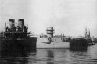 Исключенное судно 4 (бывшая Чесма) в гавани Севастополя, август 1912