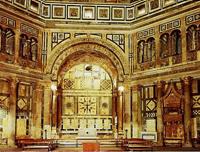 Интерьер баптистерия Сан Джованни. Флоренция