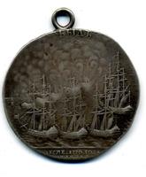 Медаль участника Чесменского сражения 1770 года