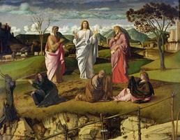Преображение ( Джованни Беллини. 1480-е гг.)