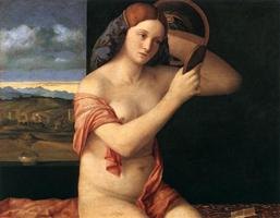 Молодая женщина за туалетом (Джованни Беллини)