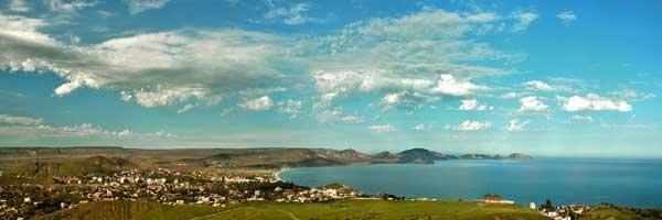 Феодосия, панорама