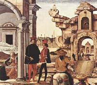 Чудотворные дела св. Винченцо Феррера, фрагмент 2 (Роберти Эрколе)