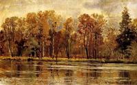 Золотая осень (И.И. Шишкин)