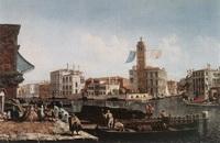 Большой канал и Рыбный рынок (М. Мариески, 1740 г.)