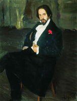 Иван Яковлевич Билибин (Борис Кустодиев, 1901 г.)