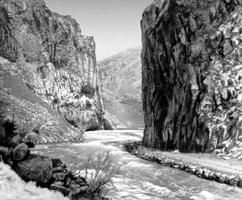 Долина реки Арпа. Закавказье.