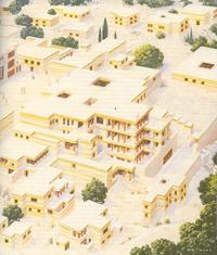 Схема дворца царя Миноса