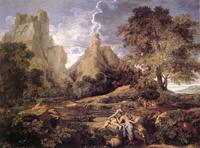 Пейзаж с Полифемом (Николя Пуссен 1649)