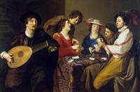 Игра в карты (Теодор Ромбоутс, 1620 г.)