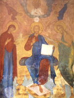 Деисус. Софийский собор в Вологде