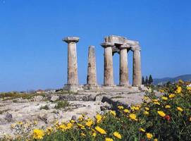 Храм Аполлона, Коринф (ок 550 г. до н.э.)