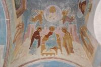 Спас на престоле. Деисус. Ферапонтов Белозерский монастырь. 1502 год