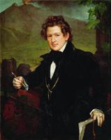 Портрет художника К.П. Брюллова (В.А. Тропинин)