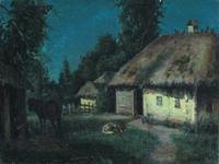 Лунная ночь в Малороссии (Бровар Я.И.)