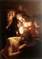 Самсон и Далила (Геррит ван Хонтхорст. 1615 г.)