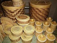 Изделия из шемогодской прорезной берёсты