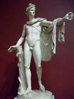 Леохар. Аполлон Бельведерский. Римская копия с греческого оригинала. 330-320 гг. до н.э. Ватикан