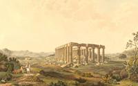 Храм Аполлона Эпикурейского (Эдвард Додвелл, Лондон, 1821 г.)