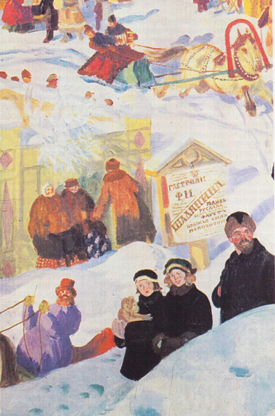 Портрет Ф.И. Шаляпина (фрагмент)