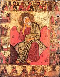 Илия пророк с житием и деисусом. Конец XII в