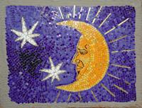 Луна (мозаичное панно)
