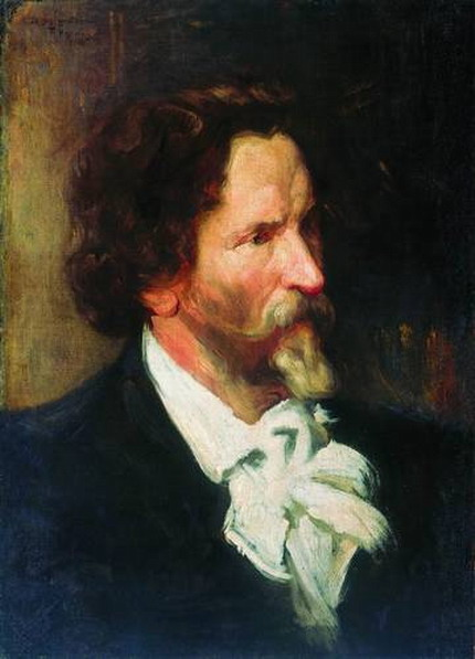Портрет И. Е. Репина.