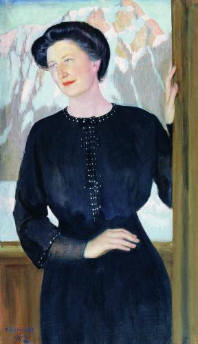 Портрет Наталии Илларионовны Зеленской. 1912