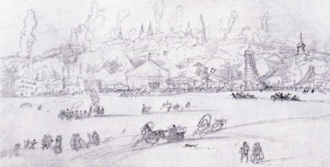 Зимнее гулянье на реке (1919 г.)