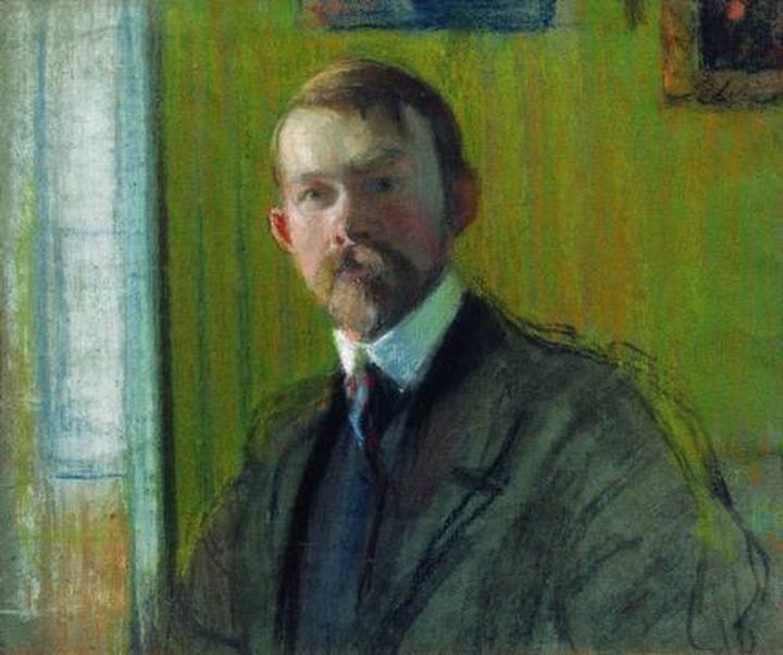 Автопортрет начало 1900-х