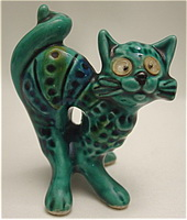 Фигурка кота (майолика)