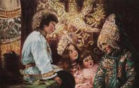 Бабушкины сказки (К. Маковский. 1890-е г.)