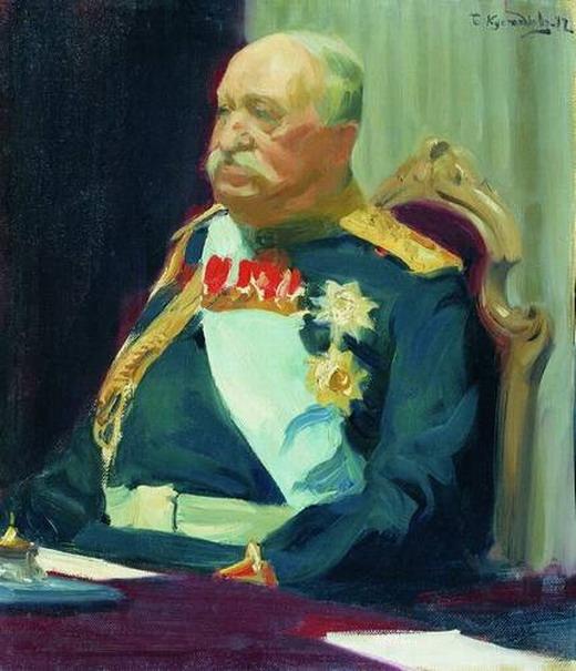 Портрет графа Н.П. Игнатьева.