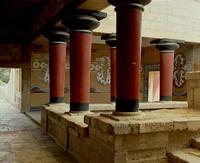 Кносский дворец.Внутренний двор