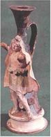 Фигурный сосуд. IV в. до н.э. Санкт-Петербург, Эрмитаж