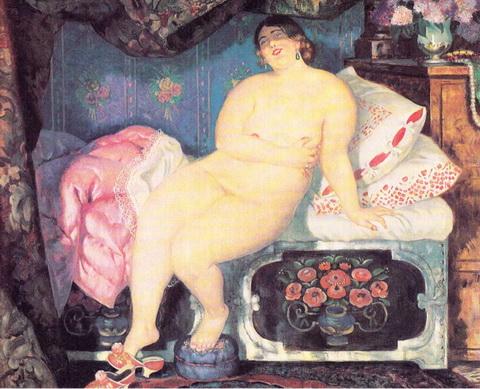 Красавица (1921 г., вариант картины 1915 года)
