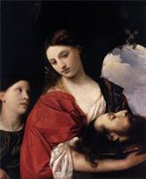 Юдифь с головой Олоферна (Тициан, 1515 г.)