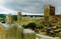 Кафа. Генуэзская крепость