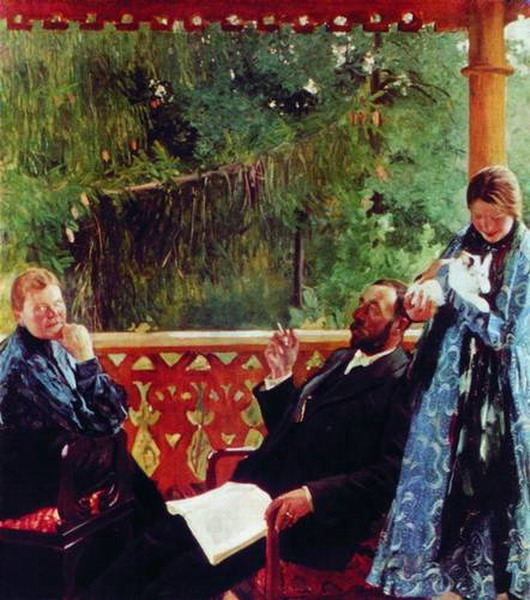 Портрет семьи Поленовых («Семейный портрет»).