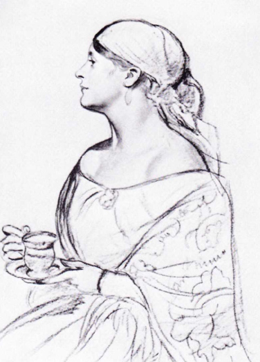 Женщина с чашкой (1918 г.)