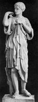 Пракситель. Артемида из Габий. Римское копия. 345 г. до н.э. Париж, Лувр