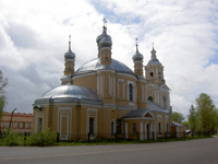 Абсида Церквиь Илии Пророка. (Старица, Россия)
