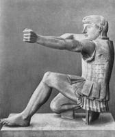 Геракл. Восточный фронтон храма Афины Афайи. Остров Эгина, Греция