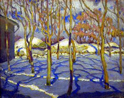 Март (М.Г. Бурачек, 1917 г.)