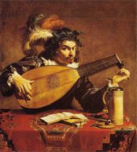 Лютнист (Теодор Ромбоутс, 1620 г.)